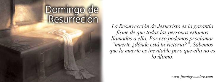 Fuenteycumbre cover Domingo de resurrección