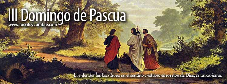 Resultado de imagen de 3 domingo de pascua ciclo a