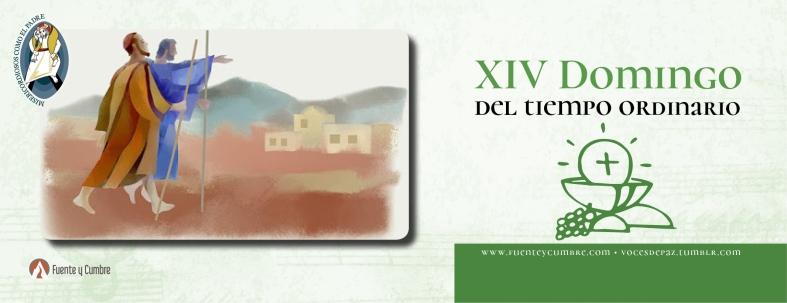 Resultado de imagen de XIV Domingo del Tiempo Ordinario Ciclo C